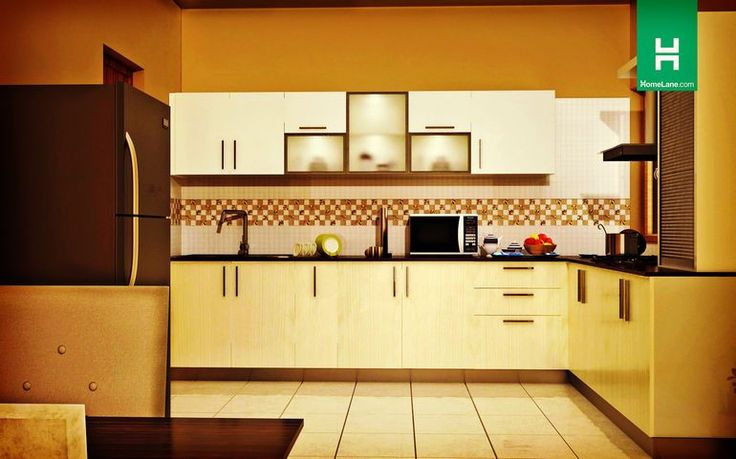 What makes a modern kitchen sleek design maybe utility for L shaped modular kitchen designs india