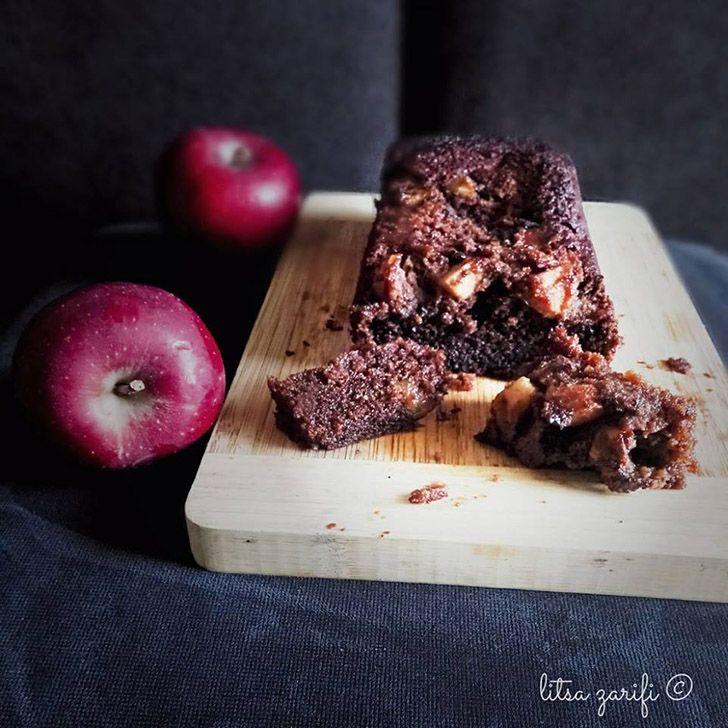 Paleo κέικ με μήλο και μέλι