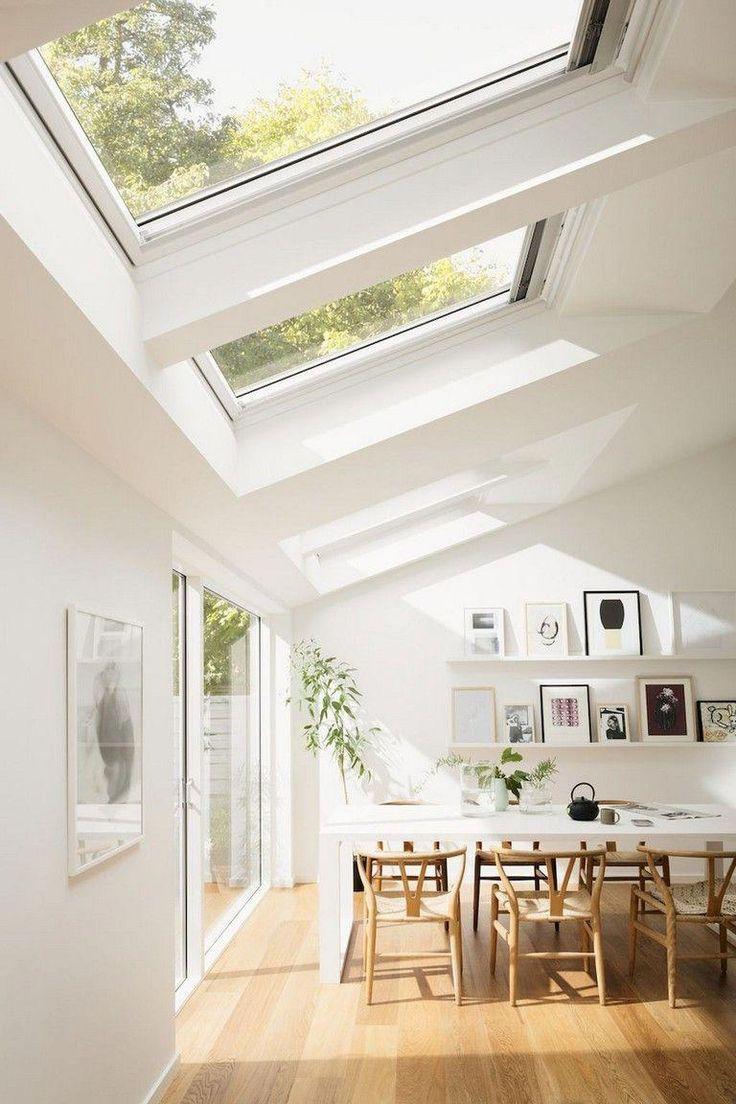 Roof Light Windows In 2020 Scandinavian Home Interiors Scandinavian Interior Kitchen Scandinavian Interior Design