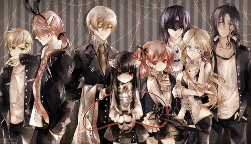 grafika inu x boku ss, anime, and manga