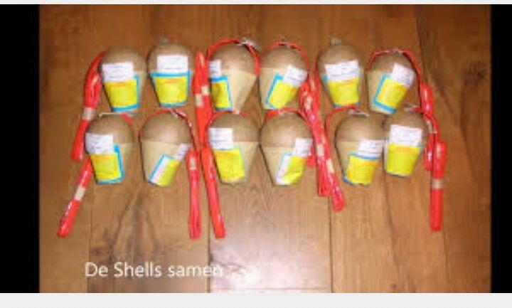 Dit zijn 3 inch shells dit behoort tot sier vuurwerk. Deze shells zijn heel mooi maar gaan ook heel hard. Er zit maar liefst 375 gram kruid in ! Deze shells moeten in een buis gezet worden dan aansteken dan schieten ze omhoog.