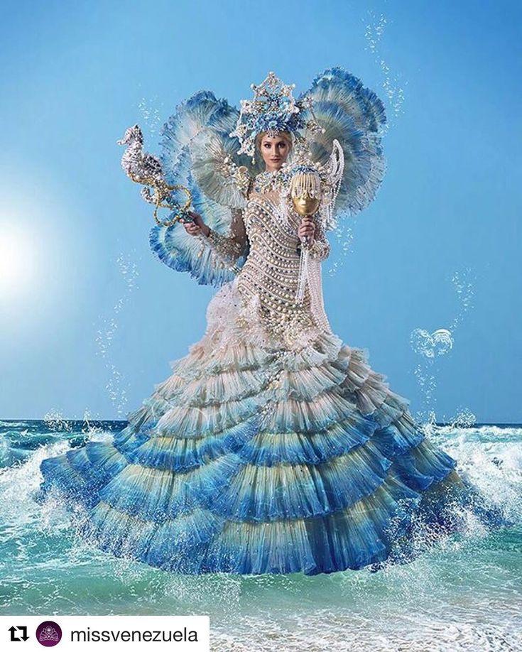 #amazing  #Repost @missvenezuela with @repostapp  Partió ayer a Filipinas MARIAM HABACH LUCIRÁ FANTASÍA INSPIRADA EN LA REINA ENCANTADA DE LOS MARES EN LA COMPETENCIA DE TRAJE TÍPICO DEL MISS UNIVERSO Mariam Habach quien partió el miércoles a Filipinas para participar en el Miss Universo para la competencia de traje típico lucirá una fantasía de mar elaborada por el Diseñador Zuliano Nidal Nouaihed llamada Reina Encantada del Mar la sirena Guaica inspirada en la leyenda de la india mestiza…