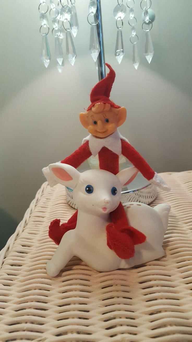 Vintage elf make over