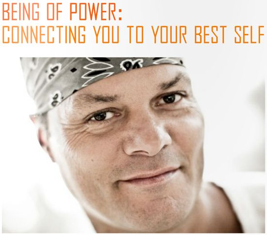 Connecting you to your best self.....Baron Baptiste