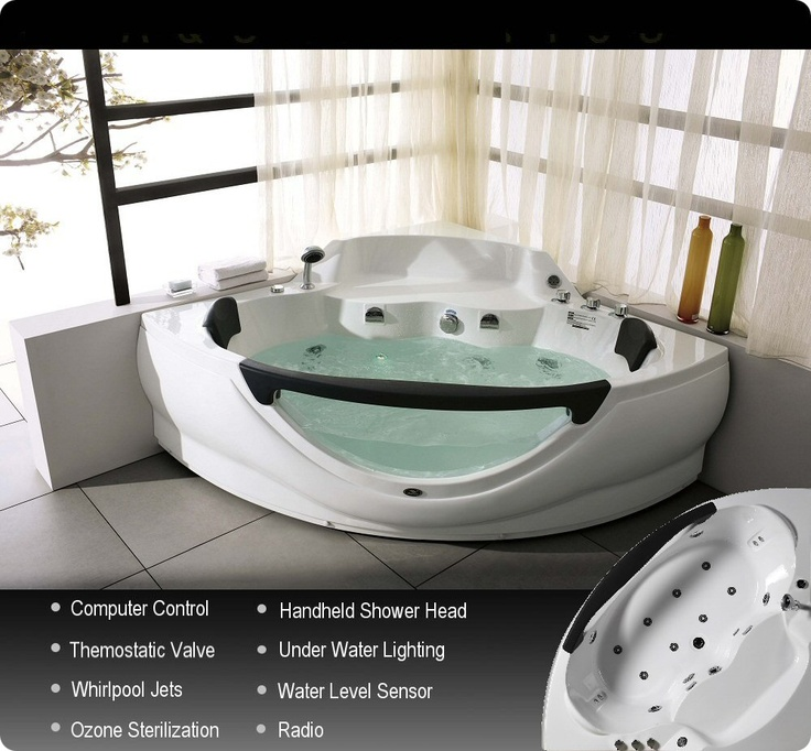 21 best Whirlpool tubs images on Pinterest | Hot tub bar, Whirlpool ...