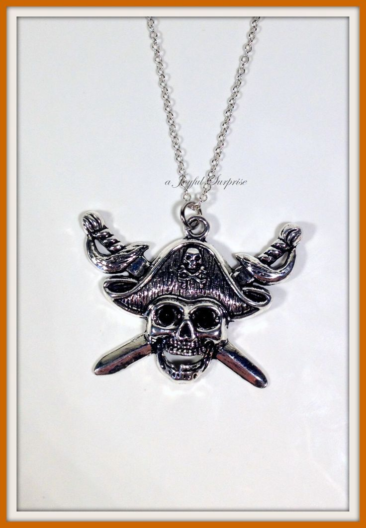 A personal favorite from my Etsy shop https://www.etsy.com/ca/listing/257213595/pirates-of-the-caribbean-necklace-pirate