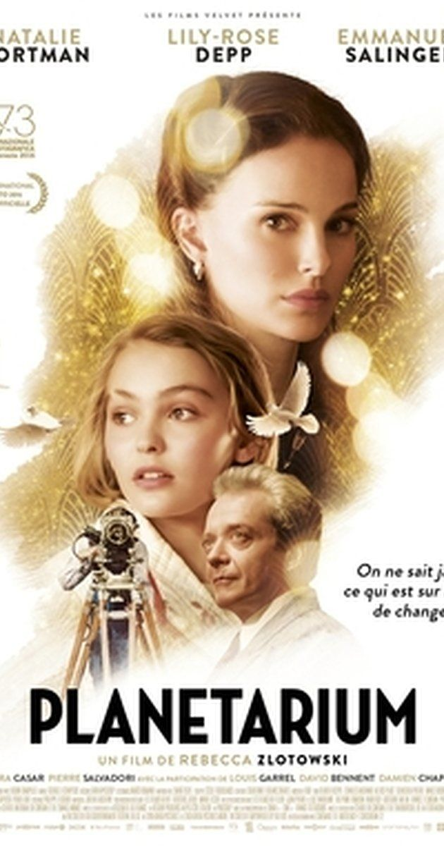 Directed by Rebecca Zlotowski.  With Natalie Portman, Lily-Rose Depp, Emmanuel Salinger, Amira Casar. Follows the journey of sisters who are believed to possess the supernatural ability to connect with ghosts. They cross paths with a visionary French producer while performing in Paris.