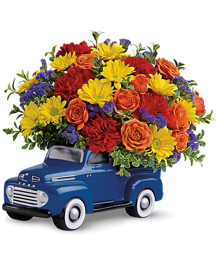 '48 Ford Pickup Bouquet by Father's day flowers