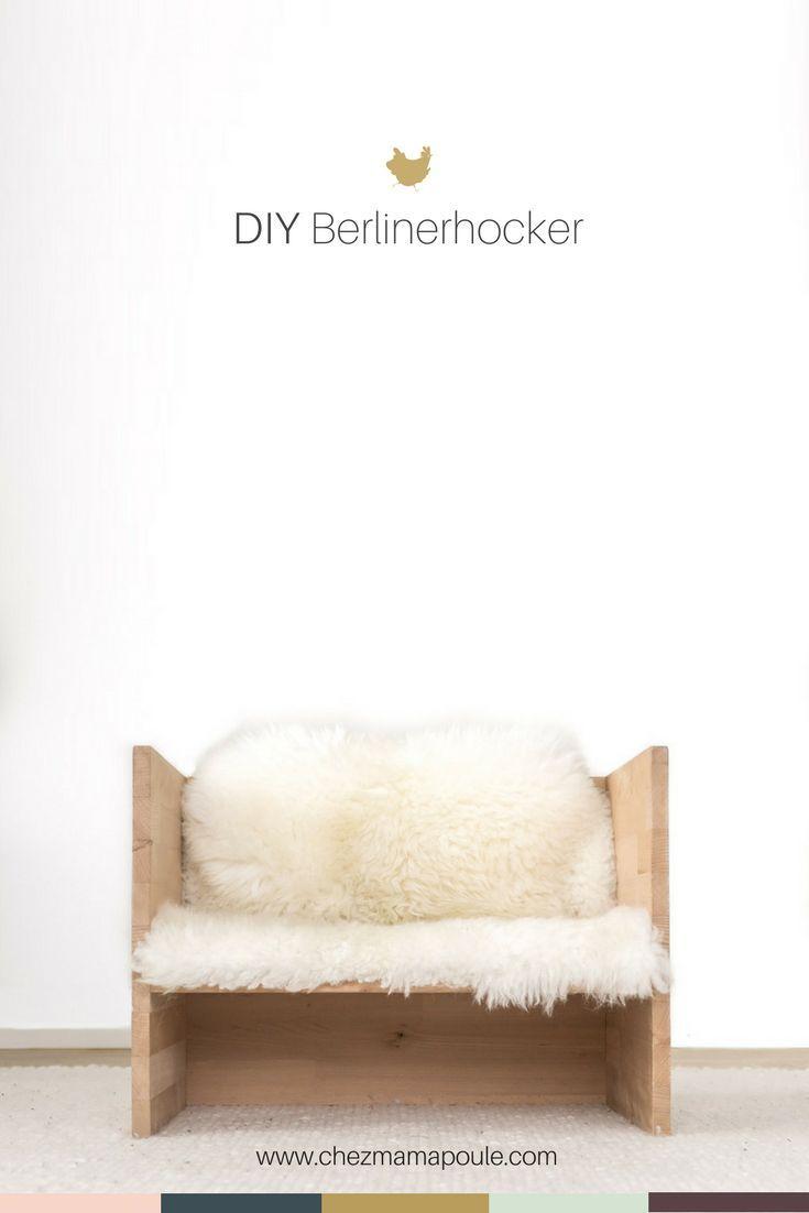 DIY: Garde-robe pour enfants avec tabouret Berliner facile à faire soi-même, menuiserie, chambre …