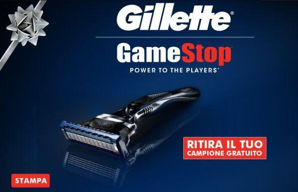 Gillette Fusion Proglide Campione Omaggio