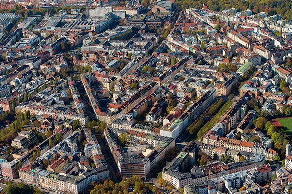 Luftbild Franzosenviertel