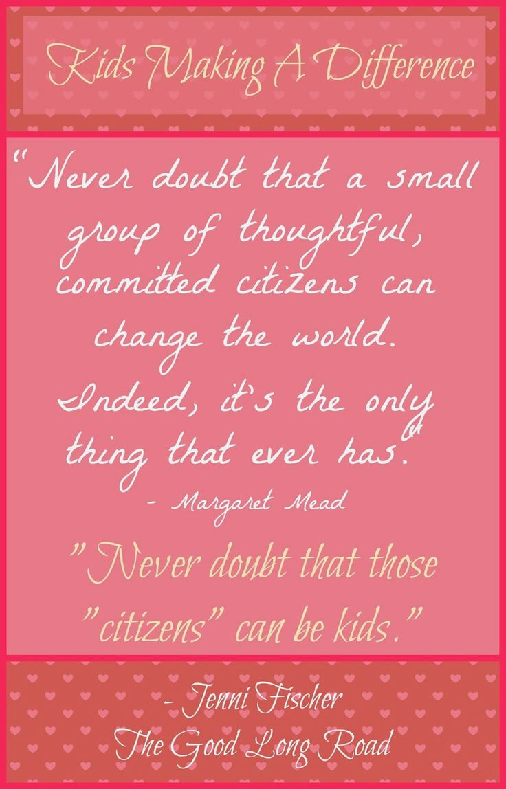 More Than Enough - The Power of Giving: One Child, One Dollar #kidscangive #bethechange