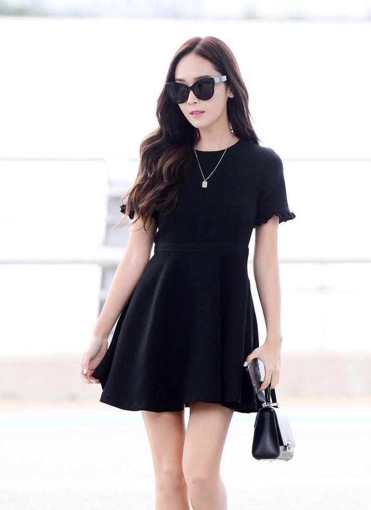 Jessica Jung airport fashion