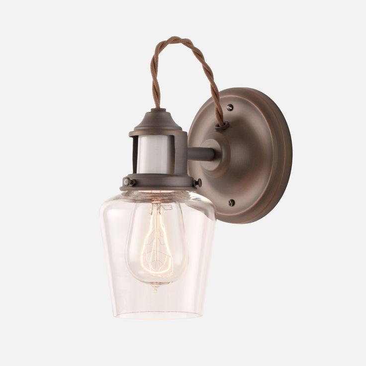 Keene Wall Sconce Light Fixture | Schoolhouse Electric & Supply Co. - bottom of staircase