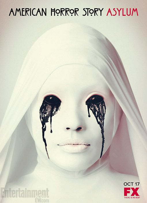 American Horror Story: Asylum. If this image alone doesn't scare the pants off you...watch the show. This series is twisted, sick, and terrifying. CAN'T WAIT!