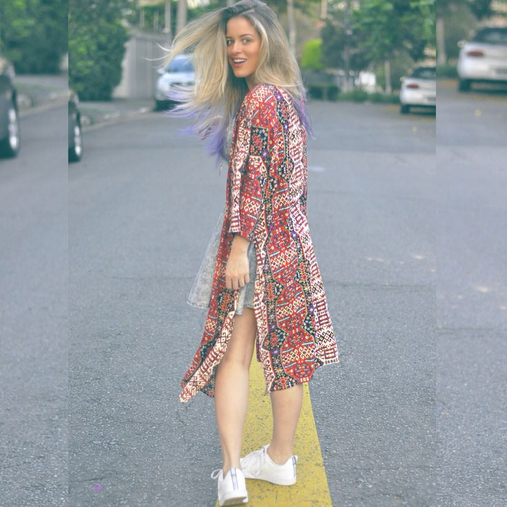 Kimono look / Andressa Almeida