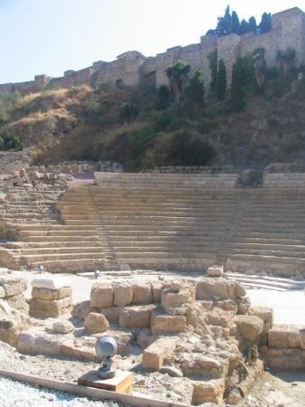 Malaga, Spain - Roman Theatre