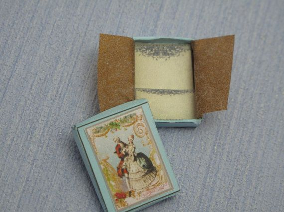 Gaël  Miniature Ladies romantic paper set in box  by Gaelatelier