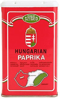 Hungarian Paprika: Paprika is the national spice of Hungary; it appears in the country's most celebrated dish, goulash. Hungarian paprika is made from peppers that are harvested, then sorted, toasted, and blended. All Hungarian paprikas have some degree of rich, sweet red pepper flavor; they range in pungency and heat. #Hungary #Paprika #thekitchn