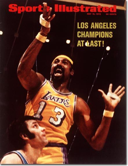 Wilt Chamberlain, Basketball, Los Angeles Lakers #NBA | Sports Illustrated cover #Finals #Champions