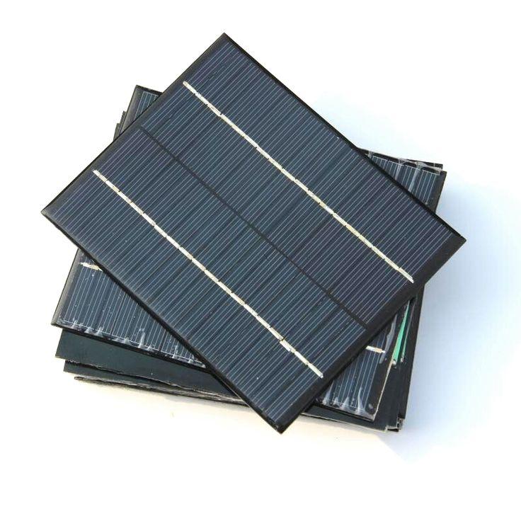 BUHESHUI High Quality 2W 18V Polycrystalline Small Solar Panel Mini Solar Cell Education Kits DIY Solar Toys/System 136*110MM