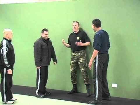 Self Defense Technique Against Multiple Attackers - Cornered  How To Defend Against Multiple Attackers When Pinned Against A Wall