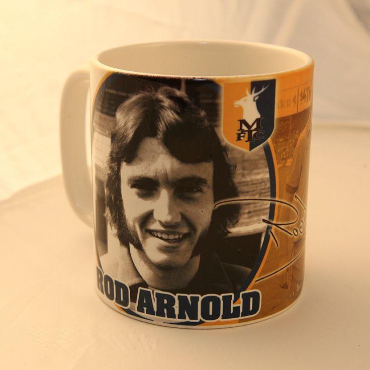 Rod Arnold Mansfield Town mug
