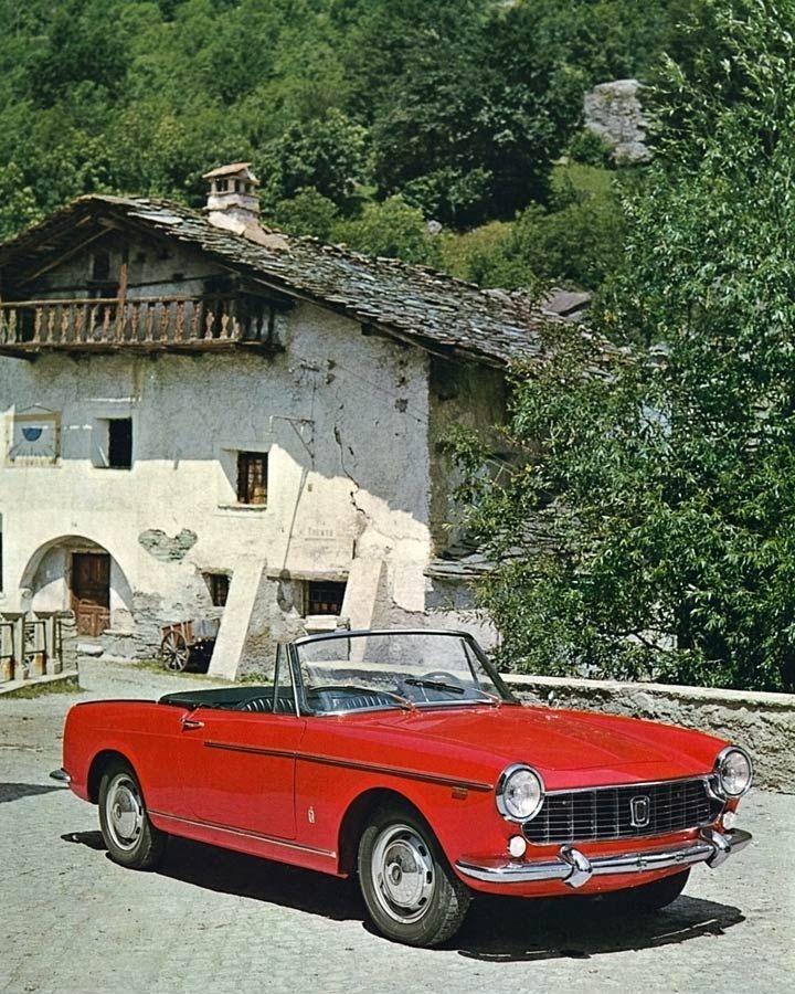 Retrophile — doyoulikevintage:   Fiat 1500 Cabriolet - 1963