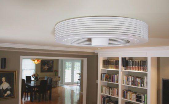 El ventilador de techo sin aspas que crea un vórtice de aire dentro de tu casa