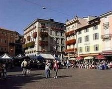 Downtown Lugano, Switzerland