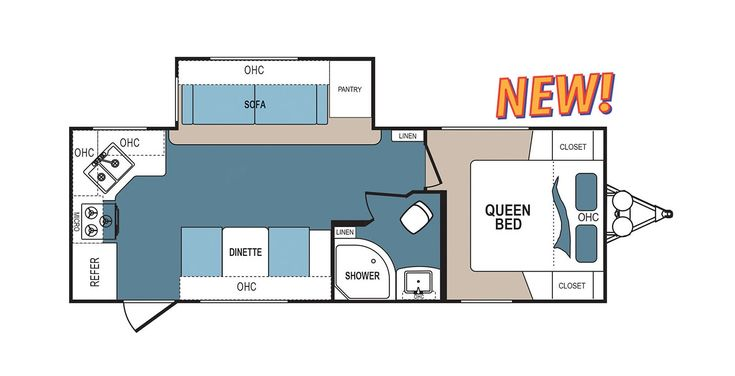 Denali 2462RK Floorplans Detail