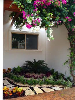jardines para adornar el exterior de tu casa