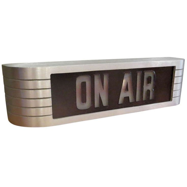 """RCA Victor Recording Studio """"On Air"""" Lighted Sign 