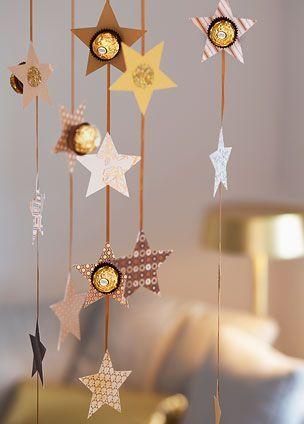 Dekoration mit Ferrero Rocher: