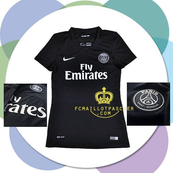 Acheter nouveau maillot PSG 2016 femme third vintage