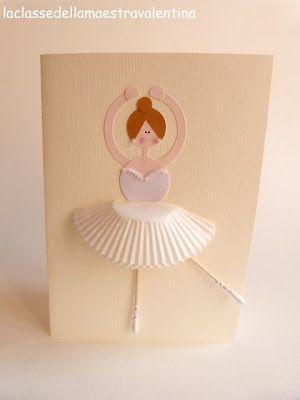 E dopo il party da maschietto, non potevo mancare con una piccola idea per le bimbe, quindi oggi vi mostro le mie ballerine di carta...