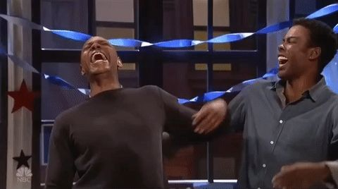 snl saturday night live snl 2016 season 42 dave chappelle chris rock #humor #hilarious #funny #lol #rofl #lmao #memes #cute
