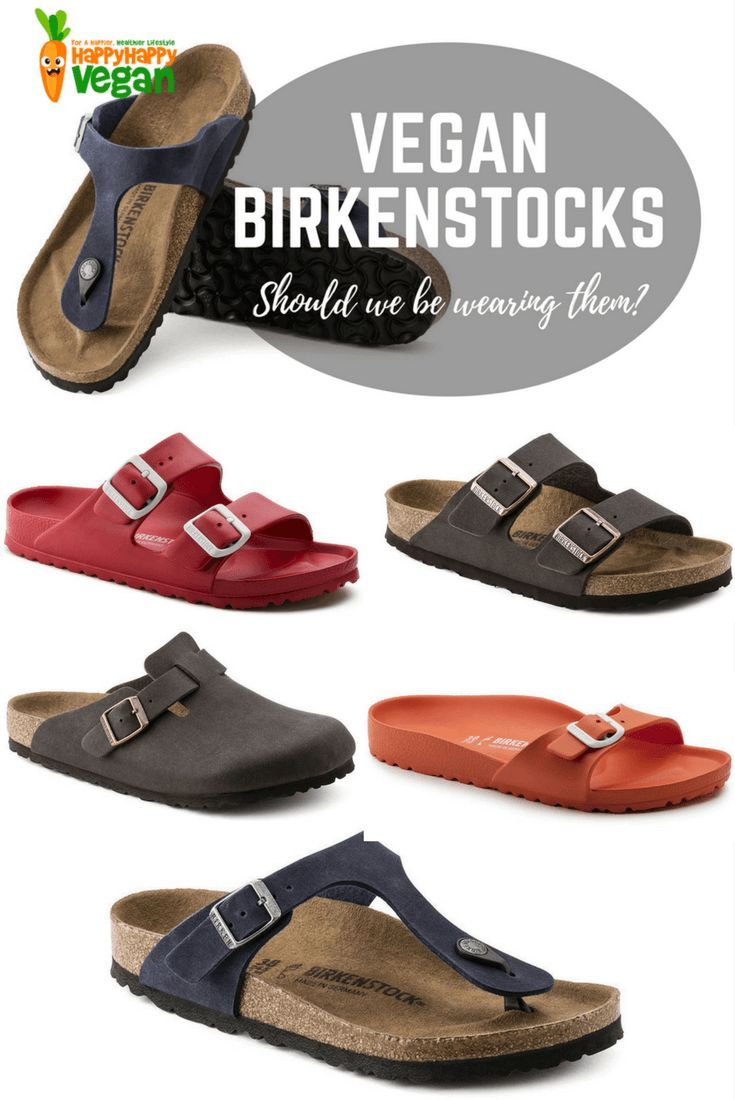 Vegan Birkenstocks Are A Thing, But Should We Be Wearing