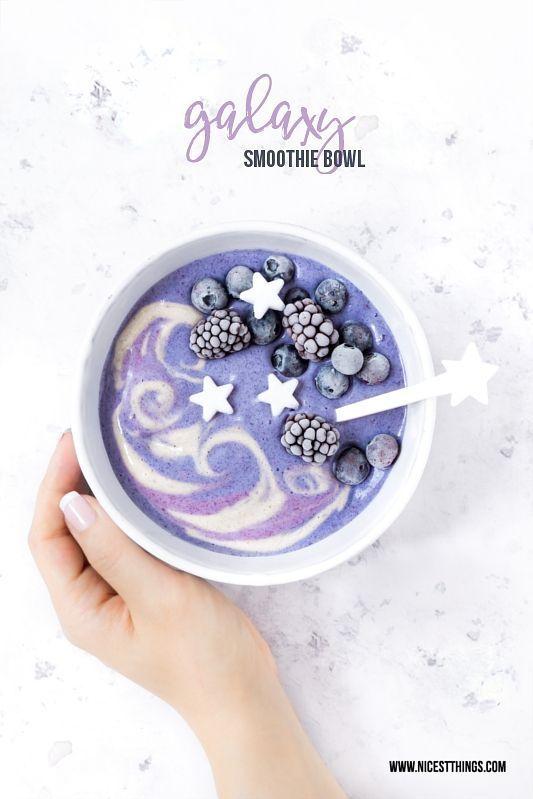 Smoothie Art: Ideen für Smoothie Bowls & Stacks, Galaxy Smoothie