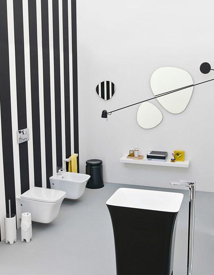 Artceram, lavabi e sanitari della collezione #bagno Cow, design Meneghello Paolelli Associati Artceram, washbasins and sanitaryware of the Cow collection designed by Meneghello Paolelli Associati. #bathroom #sanitaryware