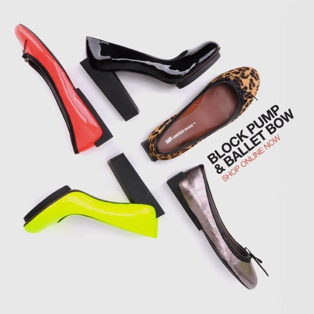 United Nude shoes... I love some of their crazy fashion forward designs...