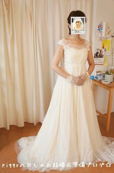 【ドレス試着⑫】 メゾンスズ |piggyのおしゃれ結婚式準備ブログ☆