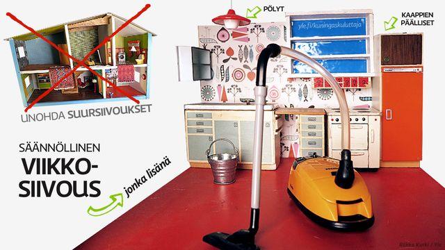Näin pidät kotisi puhtaana ilman suursiivouksia | Jutut | Kuningaskuluttaja | yle.fi