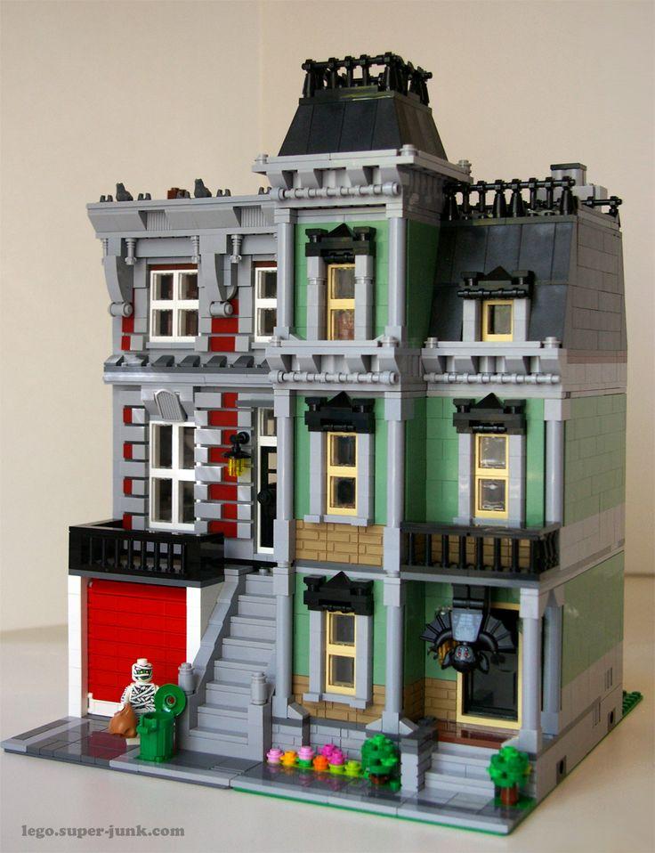 1242 besten lego city bilder auf pinterest lego modular geb ude und klassische architektur. Black Bedroom Furniture Sets. Home Design Ideas