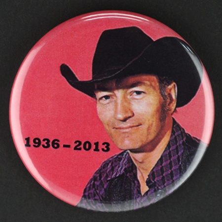 Tribute Stompin' Tom Connors Buttons for the folks at 103.1 Virgin Radio Winnipeg.  We miss your Stompin', Tom.