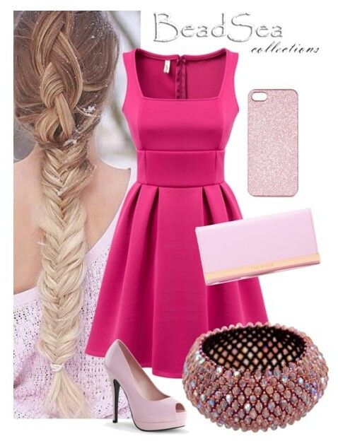 "Bracelet ""Sakura"" in sweet, girlish outfit - made by BeadSea"