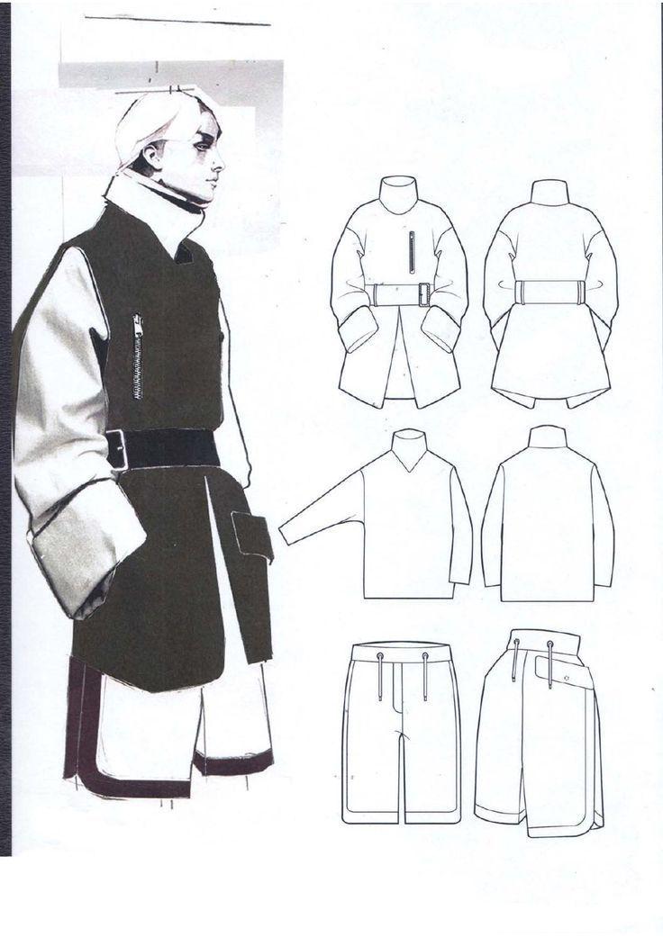 Fashion Sketchbook - fashion illustration & fashion design flats; fashion portfolio layout // Andrew Voss Nail Design, Nail Art, Nail Salon, Irvine, Newport Beach