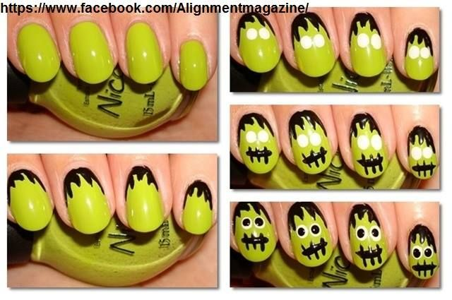 #nailstyle#halloween #halloweennailart #halloweennails#spiderwebnails #nailart #nailartaddict#diynails #diynailart #nailtrends #naildesigns #nailpolish#monster #monsternails #monsternailart#halloween2017#creepy