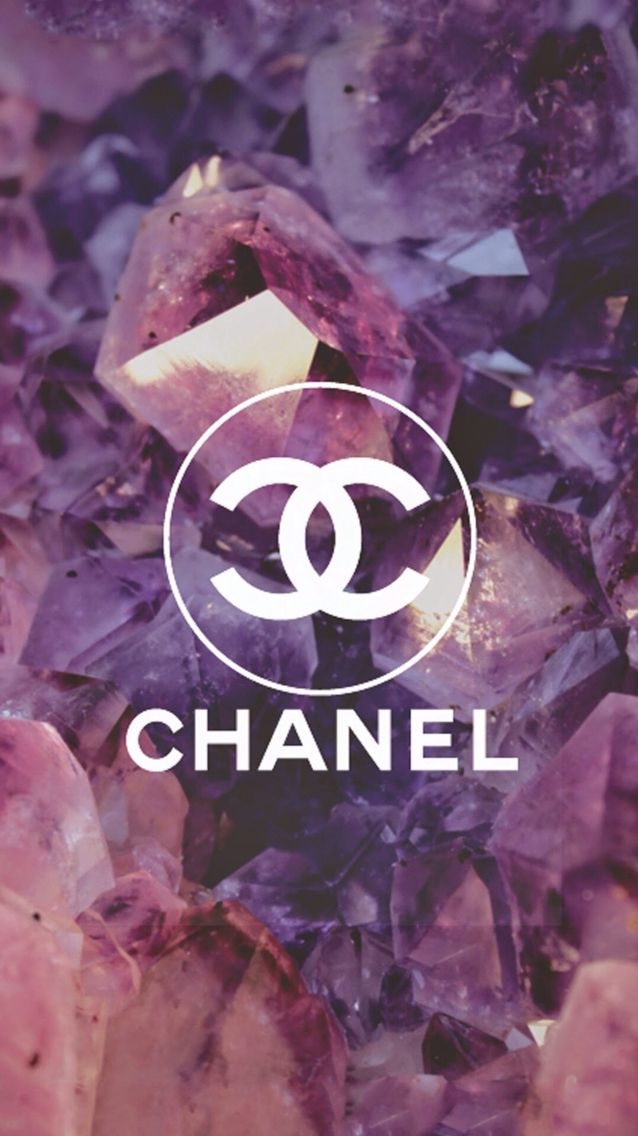 Pink purple Chanel background Favourites Pinterest
