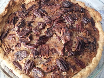 PECAN PIE WITH CANDIED GINGER & RUM | Recipes-Baking | Pinterest